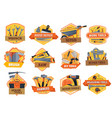 work tools construction house repair and building vector image vector image