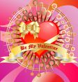 Be my Valentine's vector image