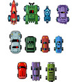 Cars For Computer Games vector image vector image