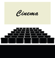 cinema color vector image