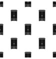 closet icon in black style isolated on white vector image vector image