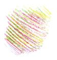crayon texture6 vector image vector image