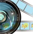 drawing digital photo vector image vector image