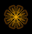 mandala 3 vector image vector image