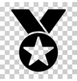 star medal icon vector image vector image