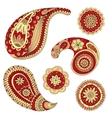Henna Paisley Mehndi Design Element vector image