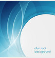 business background with abstract circles and vector image