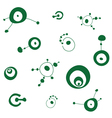 crop circles pattern vector image