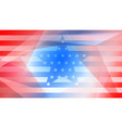 independence day abstract background vector image vector image