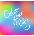 Color your life vector image