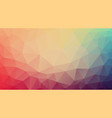 composition of triangles geometric shapes and vector image vector image