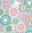 Ethnic flowers vintage vector | Price: 1 Credit (USD $1)