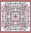 fantastic flower ornament beautiful vector image vector image
