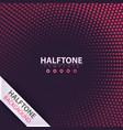 halftone idea color business template vector image