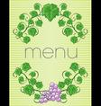 menu21 vector image vector image