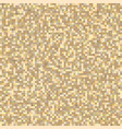 pixel abstract beige seamless pattern background vector image vector image