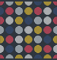 pop art seamless stylish pattern - repeatable vector image vector image