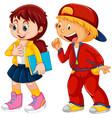 set children character vector image vector image