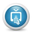 Television Remote Icon vector image vector image