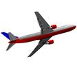 al 0611 plane 01 vector image vector image