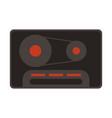audio cassette icon image vector image vector image