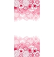 Beautiful color floral card vector image
