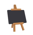 Black board vector image vector image