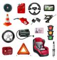 Car Maintenance Set vector image vector image