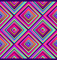 crazy squares - bright geometric pattern vector image