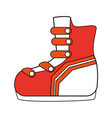 ice skates equipment vector image vector image