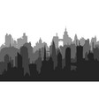 image of city buildings with many different vector image