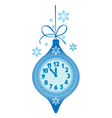 new years watch vector image vector image