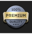 Premium Quality 100 Label vector image