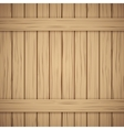 Wood plank texture for your background vector image vector image
