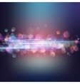 Background with bright magic lights EPS 10 vector image vector image