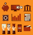 banking vector image vector image