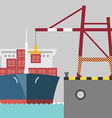 cargoPort preview vector image vector image