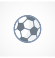 Football soccer ball icon sign vector image vector image