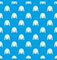 jacket pattern seamless blue vector image vector image