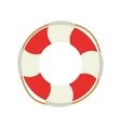 life bouy lifebelt design vector image