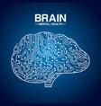 mental health design vector image vector image