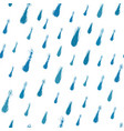 painted rain pattern vector image vector image