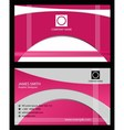 Beauty Business Card vector image vector image