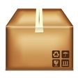 box on a white background vector image