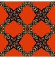 Damask seamless pattern flower vector image vector image