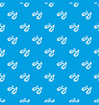 spotted snake pattern seamless blue vector image vector image