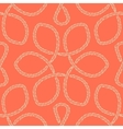 Abstract rope knot seamless pattern vector image vector image