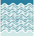 abstract sea wave seamless pattern wavy stripe vector image vector image