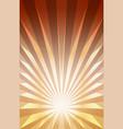 background striped explosion or sunburst vector image