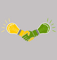 business good idea deal concept vector image vector image